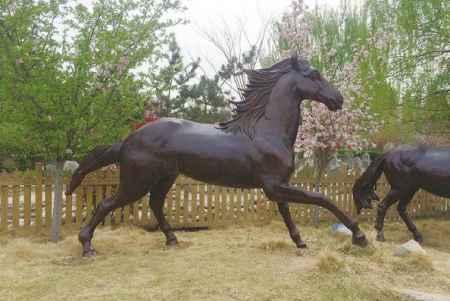 铸铜动物雕塑