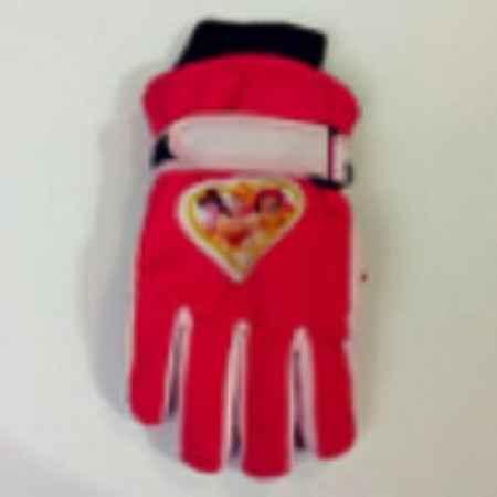 冬季户外防寒防水儿童五指保暖滑雪手套