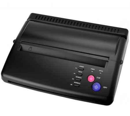 黑色纹身转印机