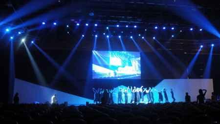 北京舞台灯光音响设备租赁