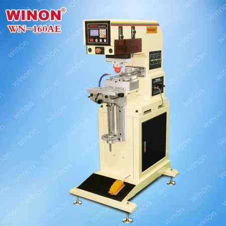 单色油盅式移印机