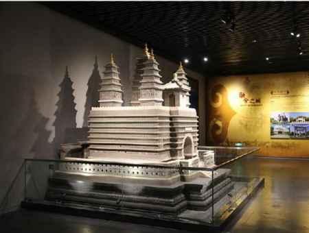 山西古建筑模型