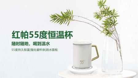 广东红帕55度恒温杯产品优势